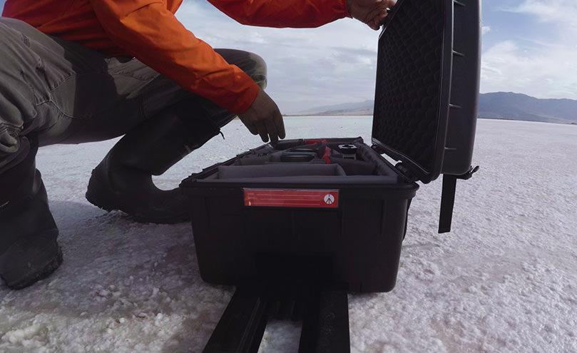 摄影器材硬壳箱视频